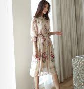 Váy liền thân Mayddle Hàn Quốc 280553