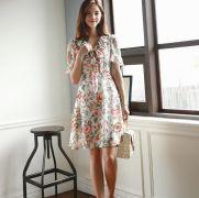Váy liền thân Mayddle Hàn Quốc 280558