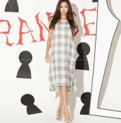 Váy liền thân Flower Hàn Quốc 20654