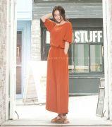 Váy liền thân Flower Hàn Quốc 20649