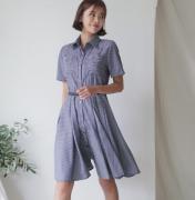 Váy liền thân Mida Hàn Quốc 100605