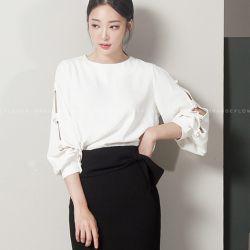 Áo sơ mi Flower Hàn Quốc 050958