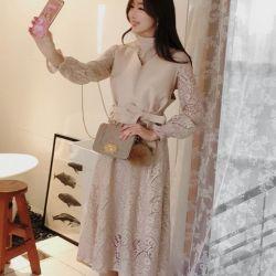 Váy liền thân Fiona Hàn Quốc 070955