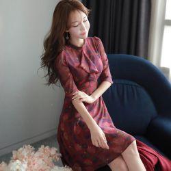 Váy liền thân Fiona Hàn Quốc 070957