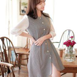 Váy liền thân Fiona Hàn Quốc 070962