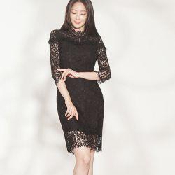 Váy liền thân Flower Hàn Quốc 180980
