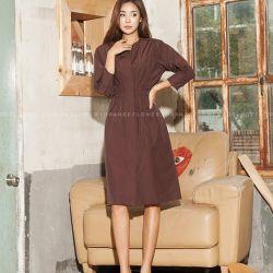 Váy liền thân Flower Hàn Quốc 180983