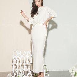 Váy liền thân Flower Hàn Quốc 180975