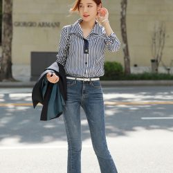 Áo sơ mi Styleonme Hàn Quốc 250924