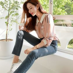 Áo sơ mi Styleonme Hàn Quốc 250926