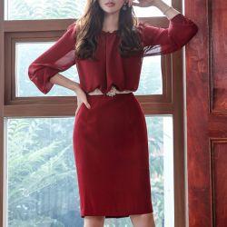 Váy liền thân Styleonme Hàn Quốc 250930