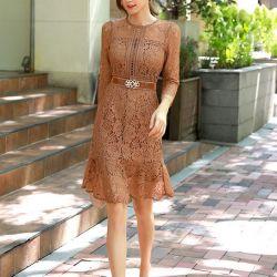Váy liền thân Styleonme Hàn Quốc 250933