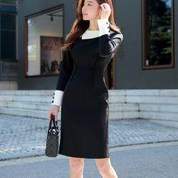 Váy liền thân Styleonme Hàn Quốc 250937
