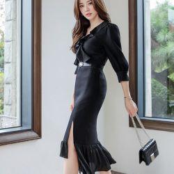 Váy liền thân Styleonme Hàn Quốc 250938