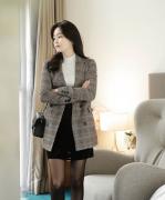 Áo choàng, khoác Fiona Hàn Quốc 111028