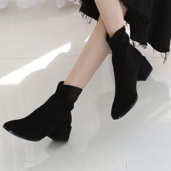 Boots cổ thấp Sovo Hàn Quốc 101074