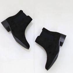 Boots cổ thấp Sovo Hàn Quốc 101075