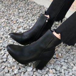 Boots cổ thấp Sovo Hàn Quốc 101076