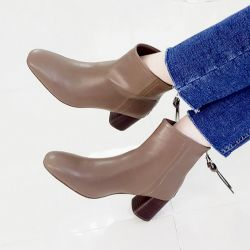 Boots cổ thấp Sovo Hàn Quốc 101077