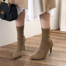Boots cổ thấp Sovo Hàn Quốc 101078