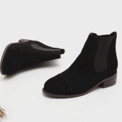Boots cổ thấp Sovo Hàn Quốc 101081