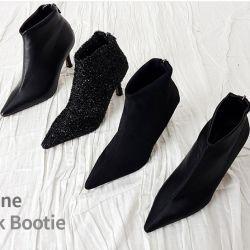 Boots cổ thấp Sovo Hàn Quốc 171057