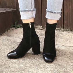 Boots cổ thấp Sovo Hàn Quốc 171060