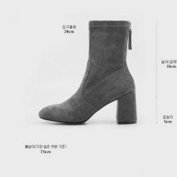 Boots cổ thấp Sovo Hàn Quốc 171061