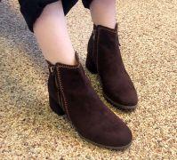 Boots cổ thấp Sovo Hàn Quốc 171063