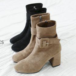 Boots cổ thấp Sovo Hàn Quốc 171059