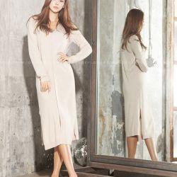 Váy liền thân Flower Hàn Quốc 311083