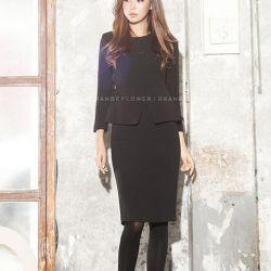 Váy liền thân Flower Hàn Quốc 311085