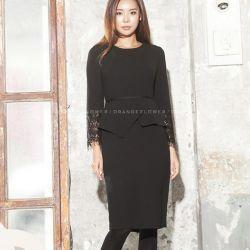 Váy liền thân Flower Hàn Quốc 311087