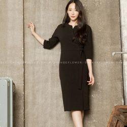 Váy liền thân Flower Hàn Quốc 311089