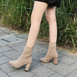 Boots cổ thấp Sovo Hàn Quốc 021175