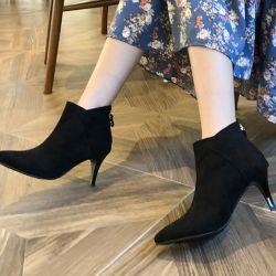 Boots cổ thấp Sovo Hàn Quốc 021178