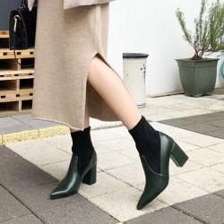 Boots cổ thấp Sovo Hàn Quốc 021180