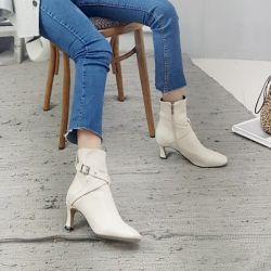 Boots cổ thấp Sovo Hàn Quốc 021183