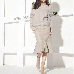 Chân váy Flower Hàn Quốc 131164