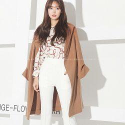 Áo khoác nữ Flower Hàn Quốc 011278