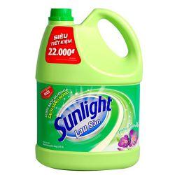 Nước lau sàn Sunlight hương Hoa Hạ 4kg