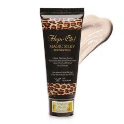 Kem nền siêu mịn Hope Girl Magic Skin Foundation #21 Ivory