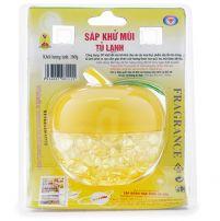 Sáp khử mùi tủ lạnh Hando hương chanh 160g (Vàng)
