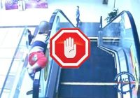 Những điều cấm khi sử dụng thang cuốn