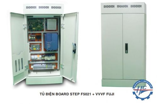 TỦ ĐIỆN BOARD STEP F5021 + VVVF FUJI
