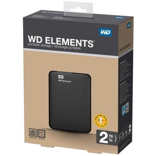 """2TB WESTERN DIGITAL Elements 2.5"""" (WDBU6Y0020BBK)"""