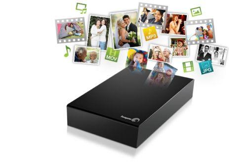 Seagate Expansion Desktop 2TB USB 3.0 Drive (STBV2000300)