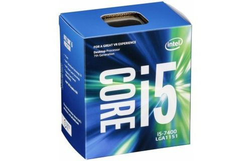 CPU iNTEL Core i5-7400 (3.0GHz)