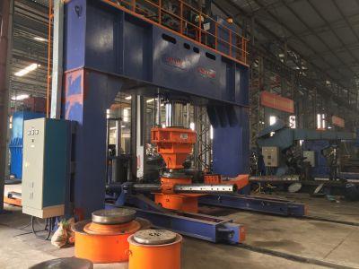 Máy ép chỏm cầu 500 tấn có gá xoay tự động