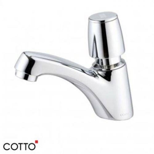 Vòi chậu lavabo Cotto CT169 (tự ngắt nước)